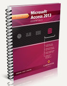 Microsoft Access 2013: Essentials