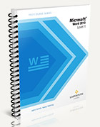 FastCourse Microsoft Word 2013: Level 1