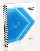 FastCourse Microsoft Word 2013: Level 3