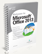 Welcome to Microsoft Office 2013