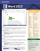 Word 2013 CourseCARD