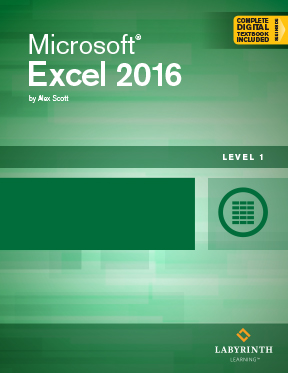 excel 2016 level 1 labyrinth learning