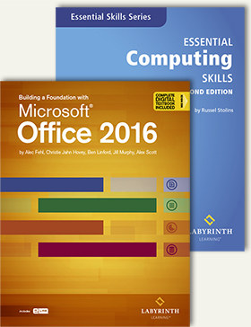 Building a Foundation with Microsoft Office 2016 & Essential Computing Skills 2nd Ed