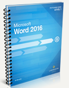 FastCourse Microsoft Word 2016: Level 1