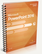 FastCourse Microsoft PowerPoint 2016: Level 1
