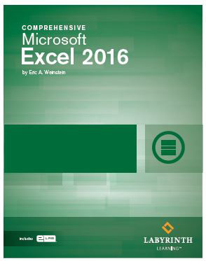 Excel 2016 comprehensive labyrinth learning fandeluxe Image collections