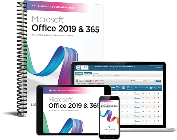Building a Foundation with Microsoft Office 2019 & 365