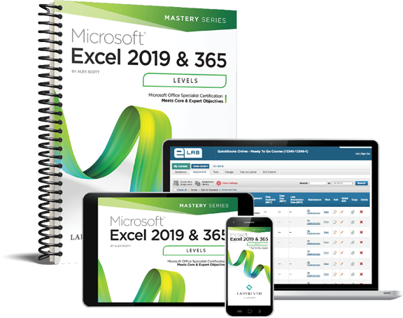 Microsoft Excel 2019 & 365: Level 3
