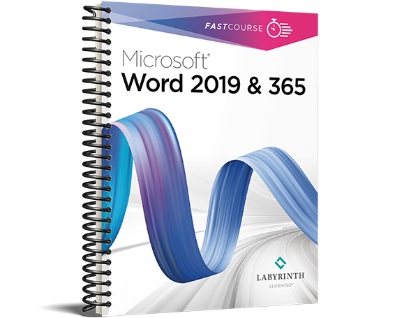 FastCourse Microsoft Word 2019 & 365: Level 3