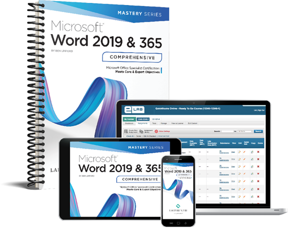Microsoft Word 2019 & 365: Comprehensive