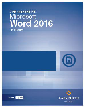 word 2016 l3 textbook w elab
