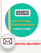 eLab CMS Institutional block of license keys