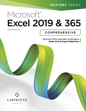 Microsoft Excel 2019 & 365: Comprehensive