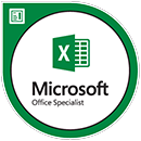 MOS certified Excel 2016
