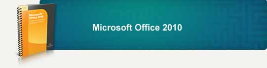 Microsoft Office 2010 banner background